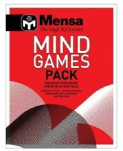 Mensa Mind Games Pack An Interactive IQ Pack to Maximize Your Brain Power
